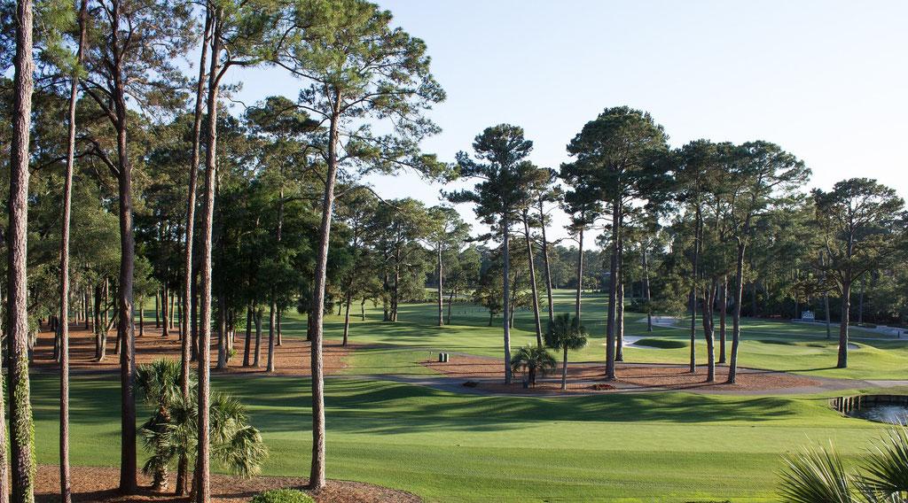 Golf national trou n°18