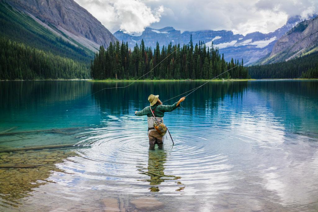 Fliegenfischen in Alberta