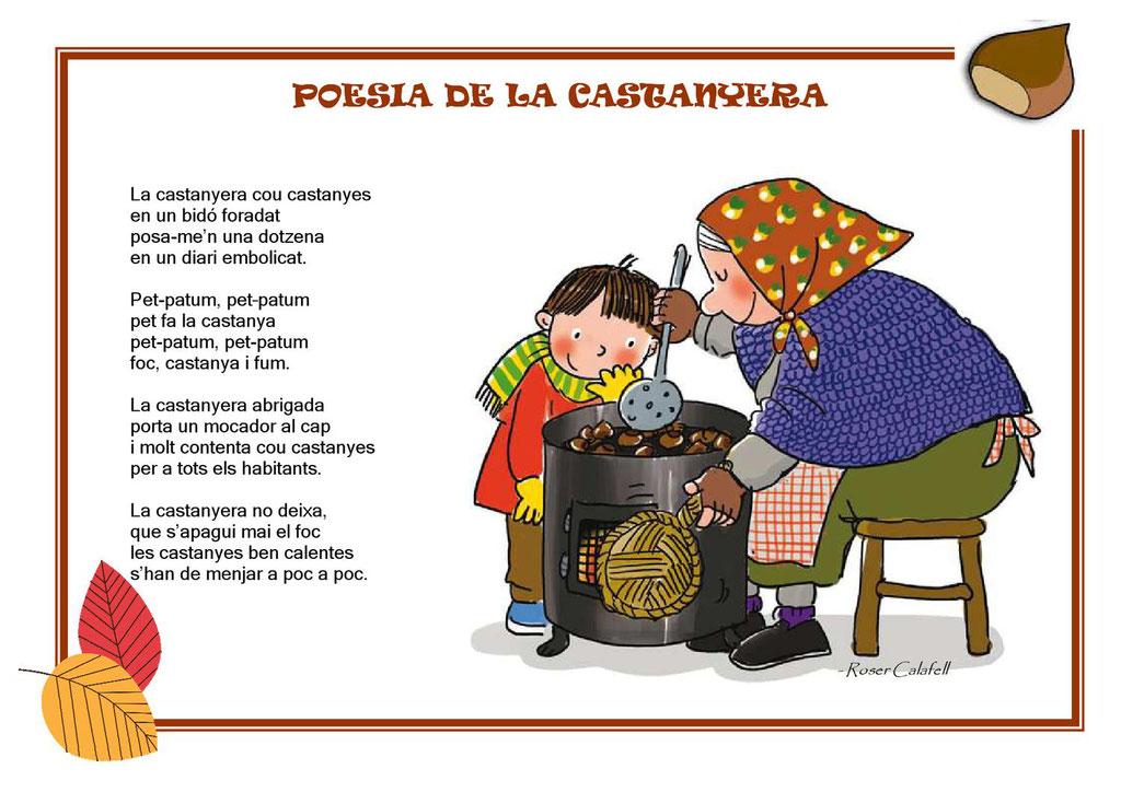 Castanyera, Poesia