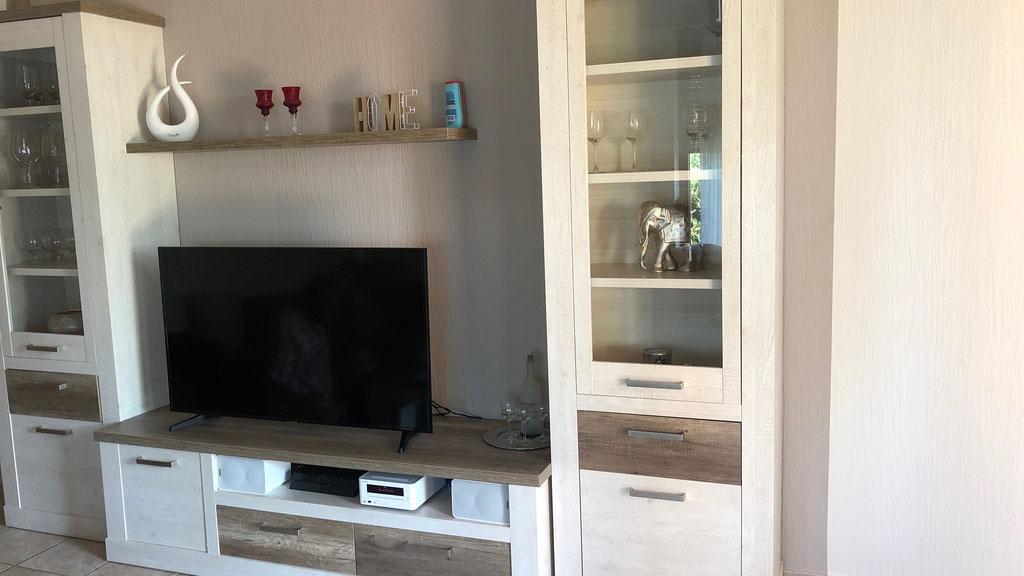 Ferienhaus Scholle K11 -Wohnzimmer-