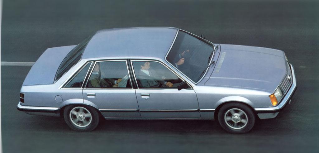 Prospekt Opel Senator 1978