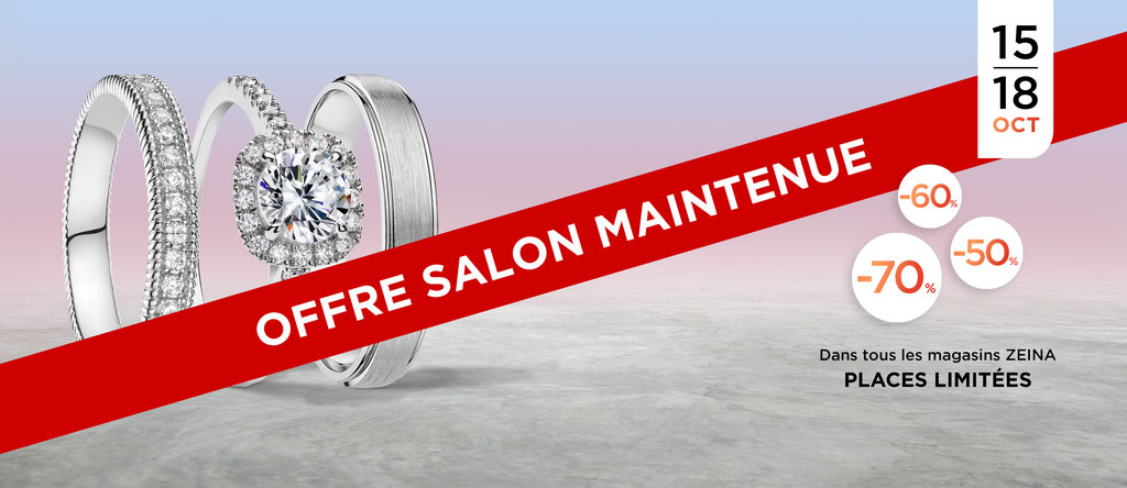 Zeina Alliances - Offre Salon Maintenue Salon du Mariage de Paris 2020 - Crédit Photo : Zeina Alliances