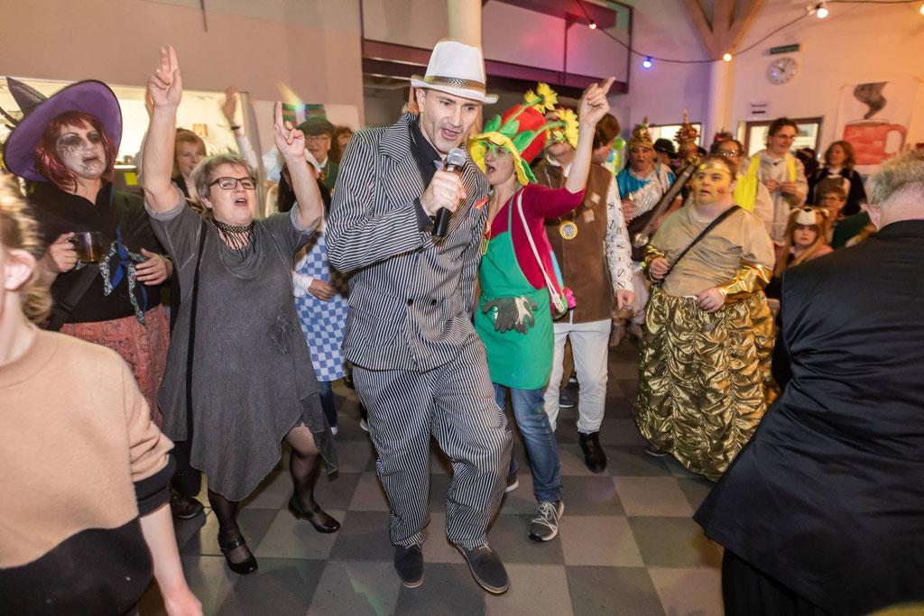 Liess das Restaurant Aronia erbeben: Stargast DJ BOBO