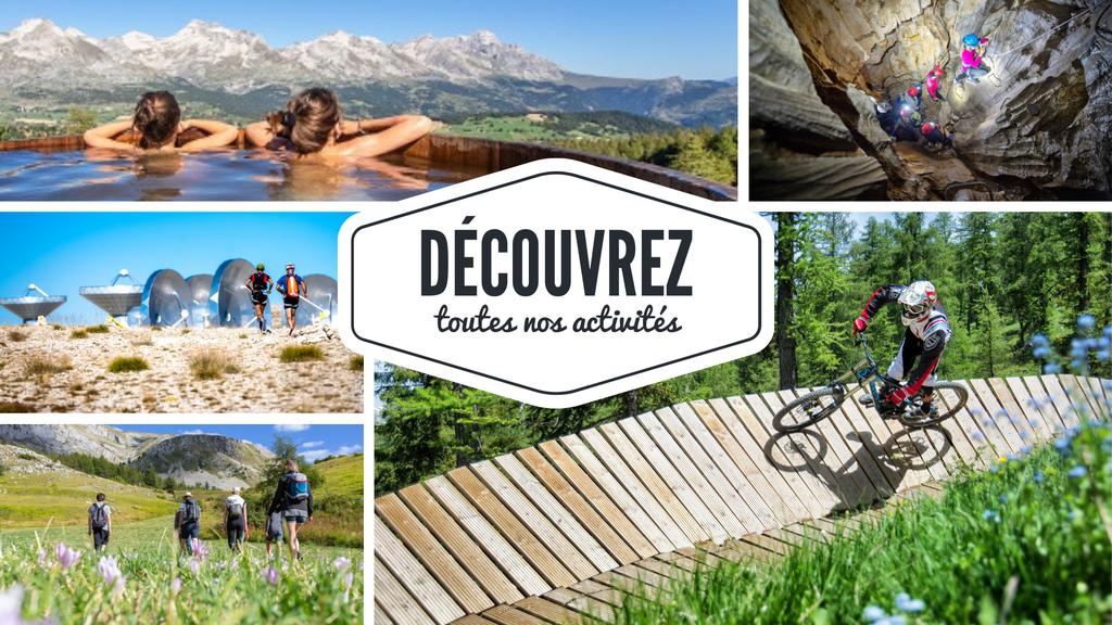 Une multitude d'activités à découvrir dans Le Dévoluy