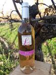 Photographie d'une bouteille de Béarn rosé du Domaine Betbeder