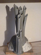 Vases à fûts multiples - Sylvie Ruiz -
