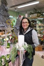 Blumen Karin, Yvonne Zgraggen, Geschäftsinhaberin