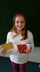 Schulsiegerin Luisa Schlidt