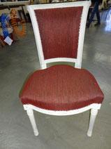 marylinegrac- tapissier d'ameublement-Chaise Directoire. Rénovation complète