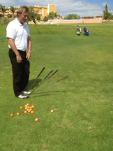 Different Ball Flights with different Wedges