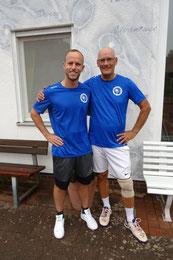 Nils Sichma & Jörg Bartsch Vereinsmeister Herren Doppel
