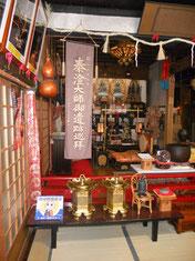 大谷寺の本殿内部