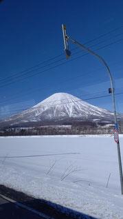 静岡の富士山に瓜二つな羊蹄山