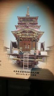 垂井祭りの山車である。西町のはんりんかく
