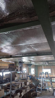 天井張った後の写真