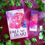"""Signiertes Taschenbuch """"Free my heart"""", Veronica More, Lieblingsautor"""