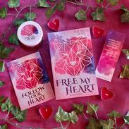 """Buchbox """"Free my heart"""", Lieblingsautor, Veronica More"""