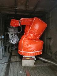 La housse de Protection pour robot textile sur mesure