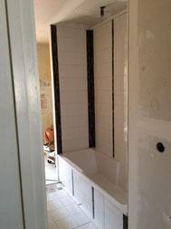 mas Eco - Transformation cuisine en salle de bain - Baignoire - Faiënce