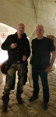 Luc Arbogast et Damien Maupin