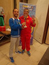 Antonio Campagna vincitore categoria Esordienti