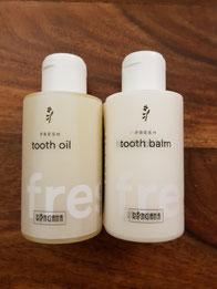 2021 legte Ringana das Tooth Oil mit einer neuen Formel auf und bietet zusätzlich ein Tooth Balm an.
