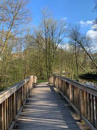 Brücke über den Alsterlauf