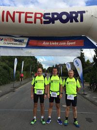 Freuen sich auf den Lauf: Wolfgang Peters, Enrico Zieker & Gerhard Venekamp (v.l.n.r)