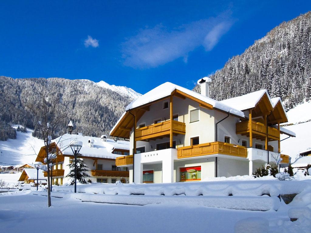 Appartements Großgasteiger im Weißenbacher Winter - Urlaub im Ahrntal