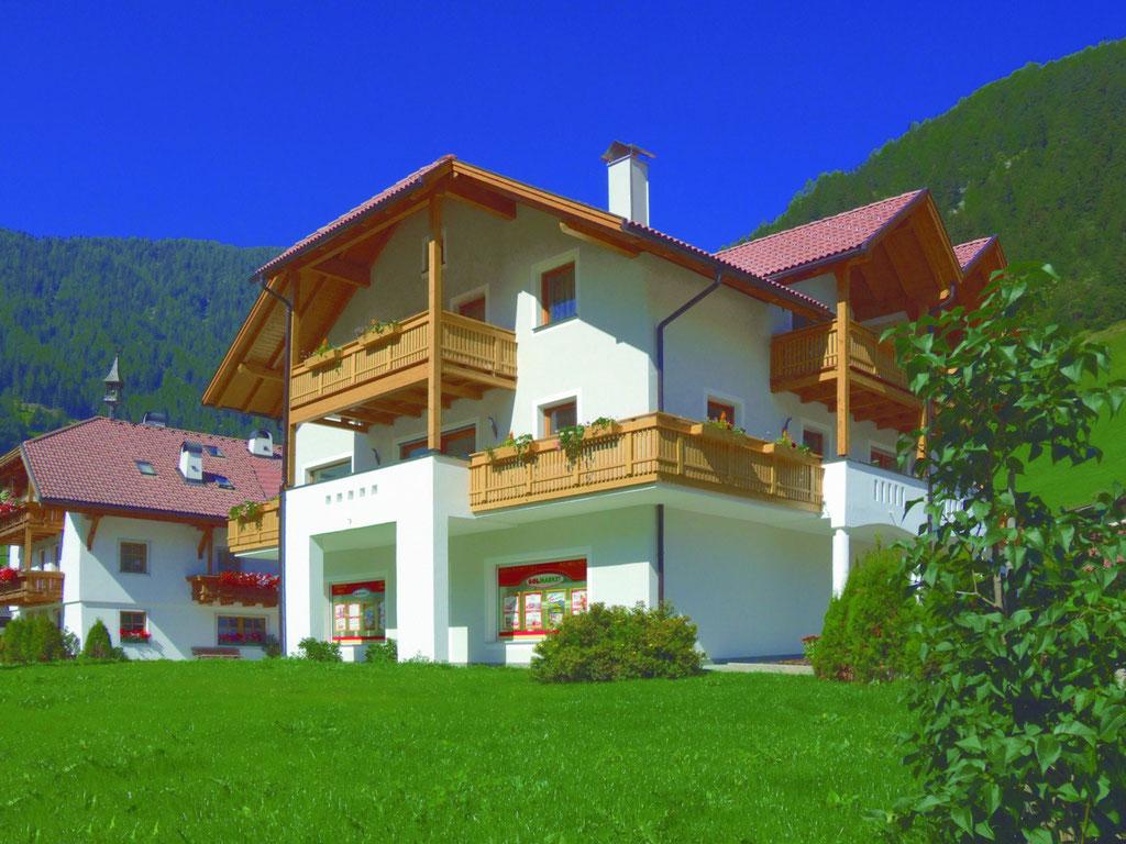 Sommerurlaub in Weißenbach - Appartements Großgasteiger im Ahrntal / Südtirol