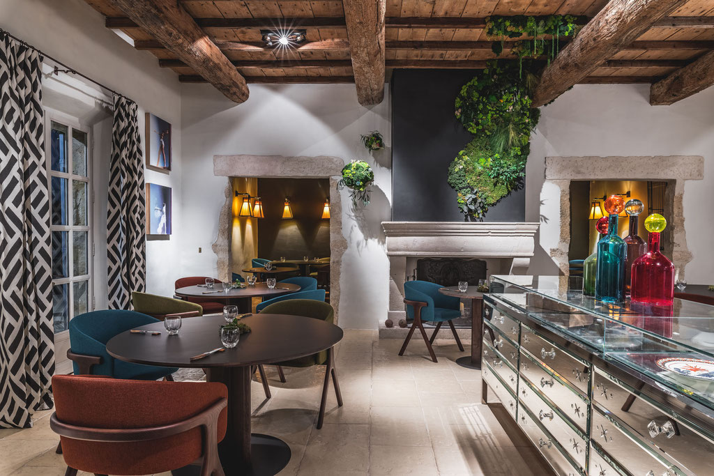 Cicada, the new restaurant of Hameau des Baux
