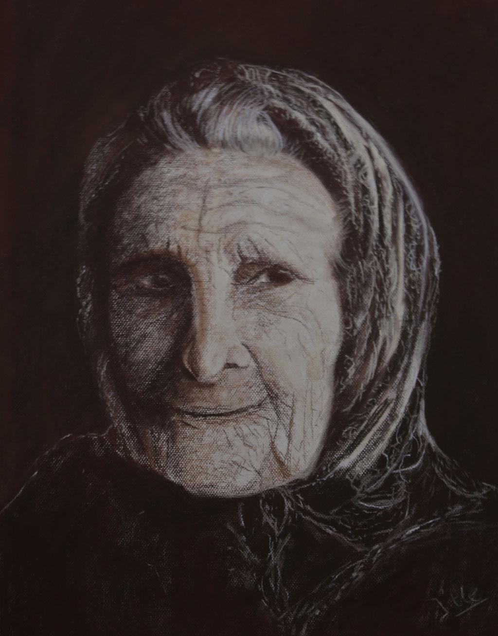 Portret Russische vrouw