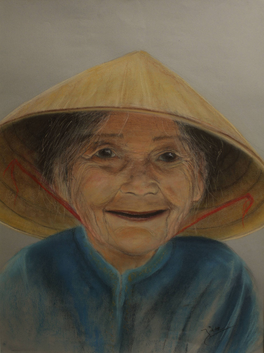 Portret Vietnamese vrouw