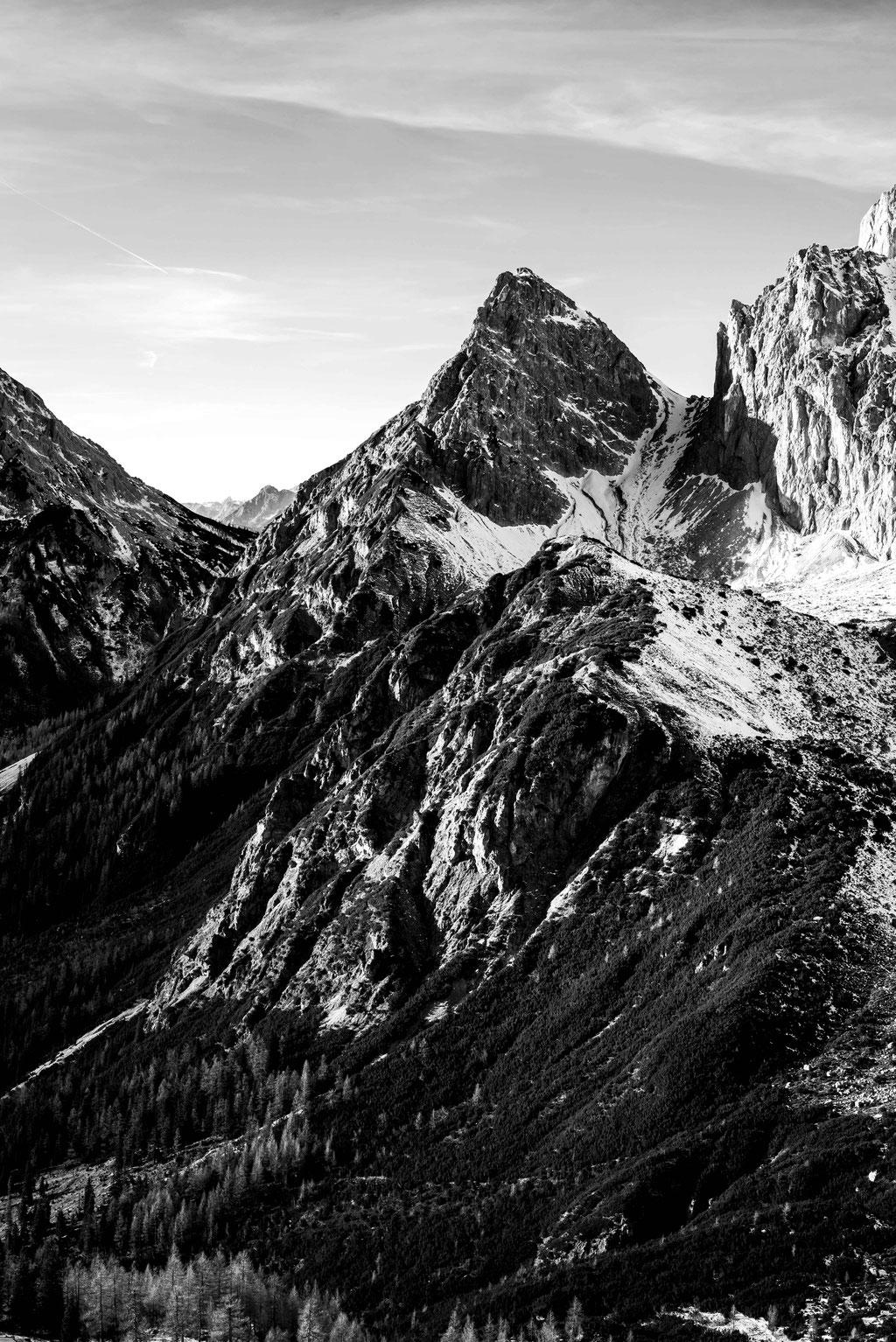 Photographs · fine art · mountains black and white