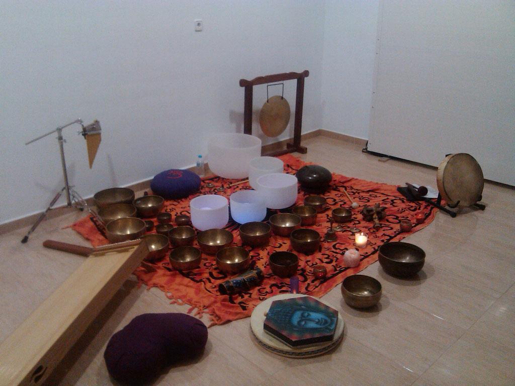 Cuencos tibetanos 01. CINDENAT - Acupuntura Cartagena