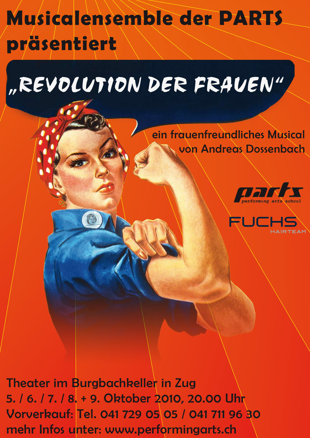 2010 MUSICAL - REVOLUTION DER FRAUEN