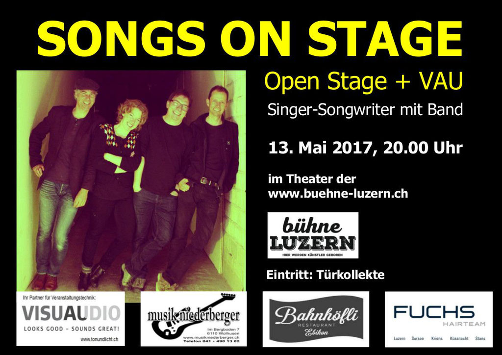 2017 KONZERT - SONGS ON STAGE 3