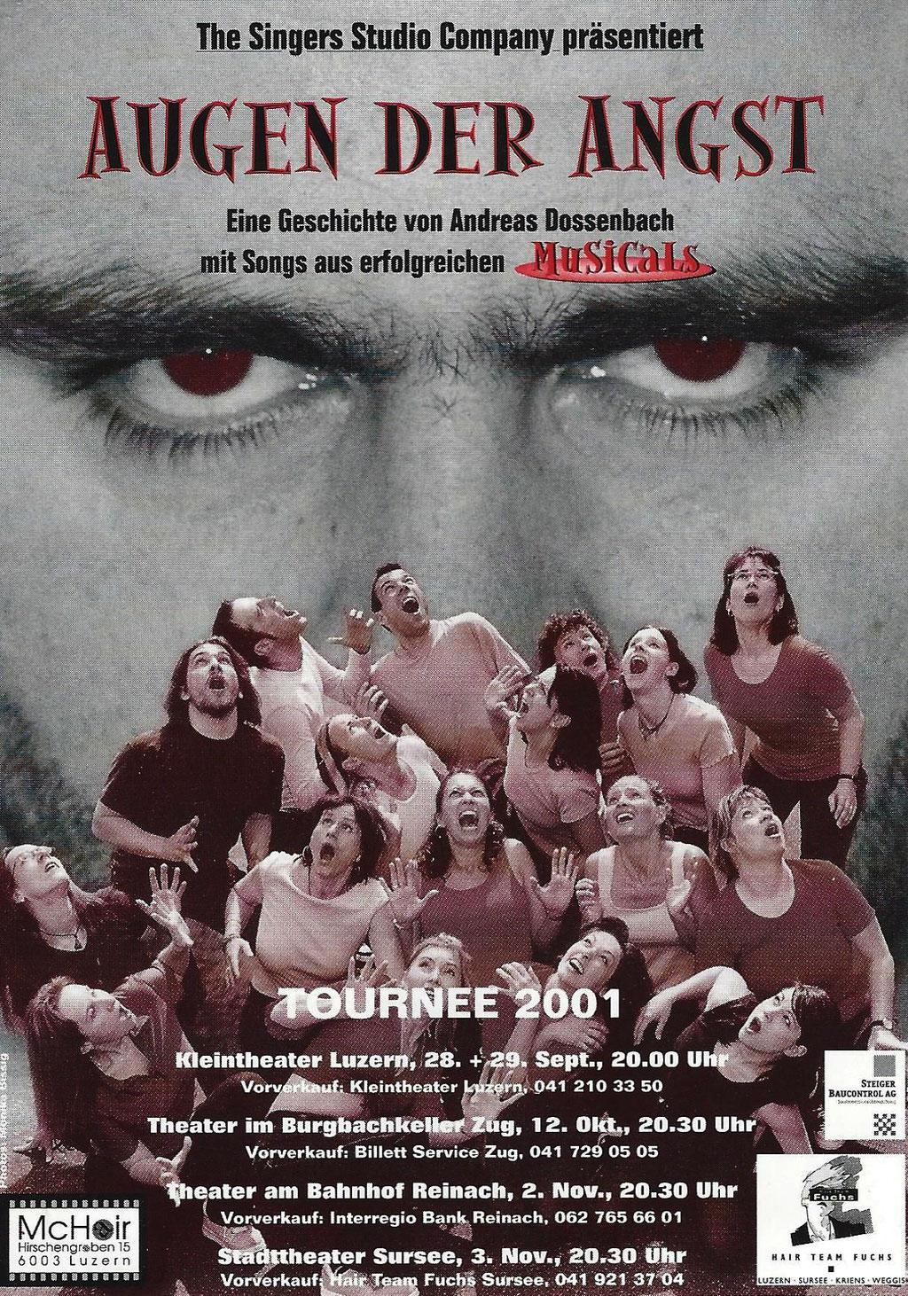 2001 MUSICAL - AUGEN DER ANGST