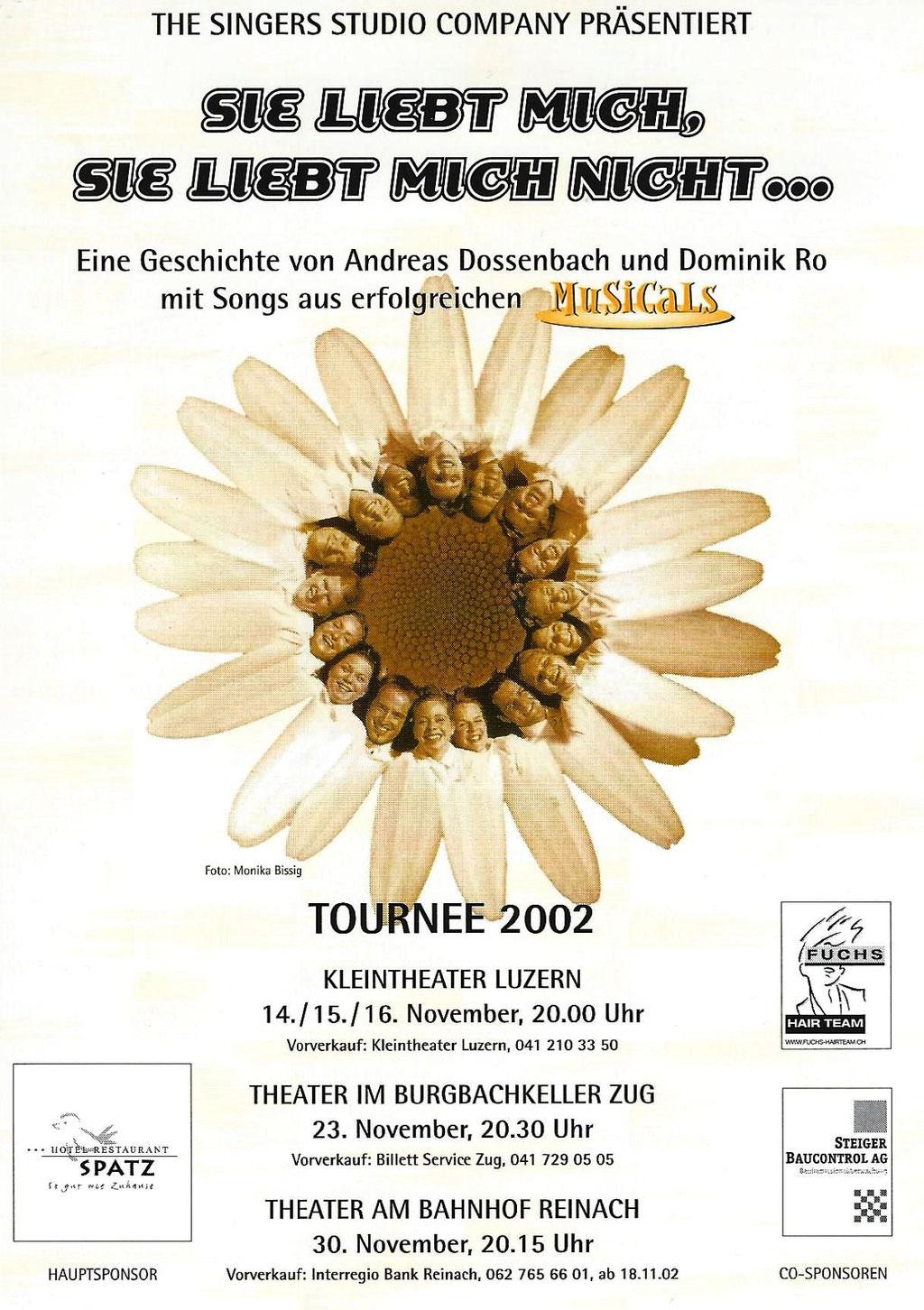2002 MUSICAL - SIE LIEBT MICH...