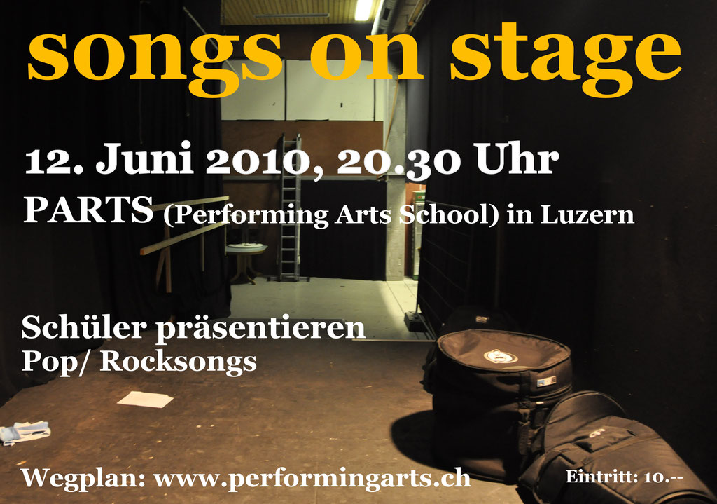 2010 KONZERT - SONGS ON STAGE