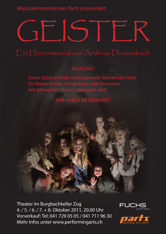 2011 MUSICAL - GEISTER