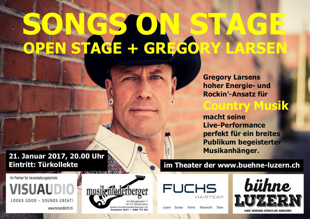 2017 KONZERT - SONGS ON STAGE 1