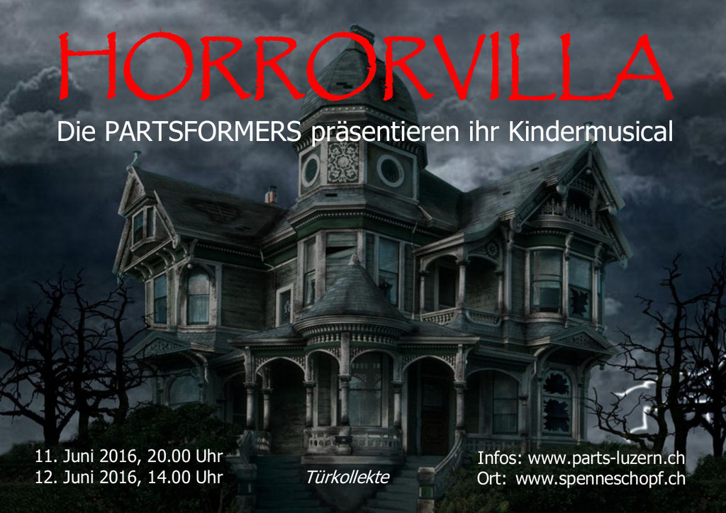 2016 KINDERMUSICAL - HORRORVILLA
