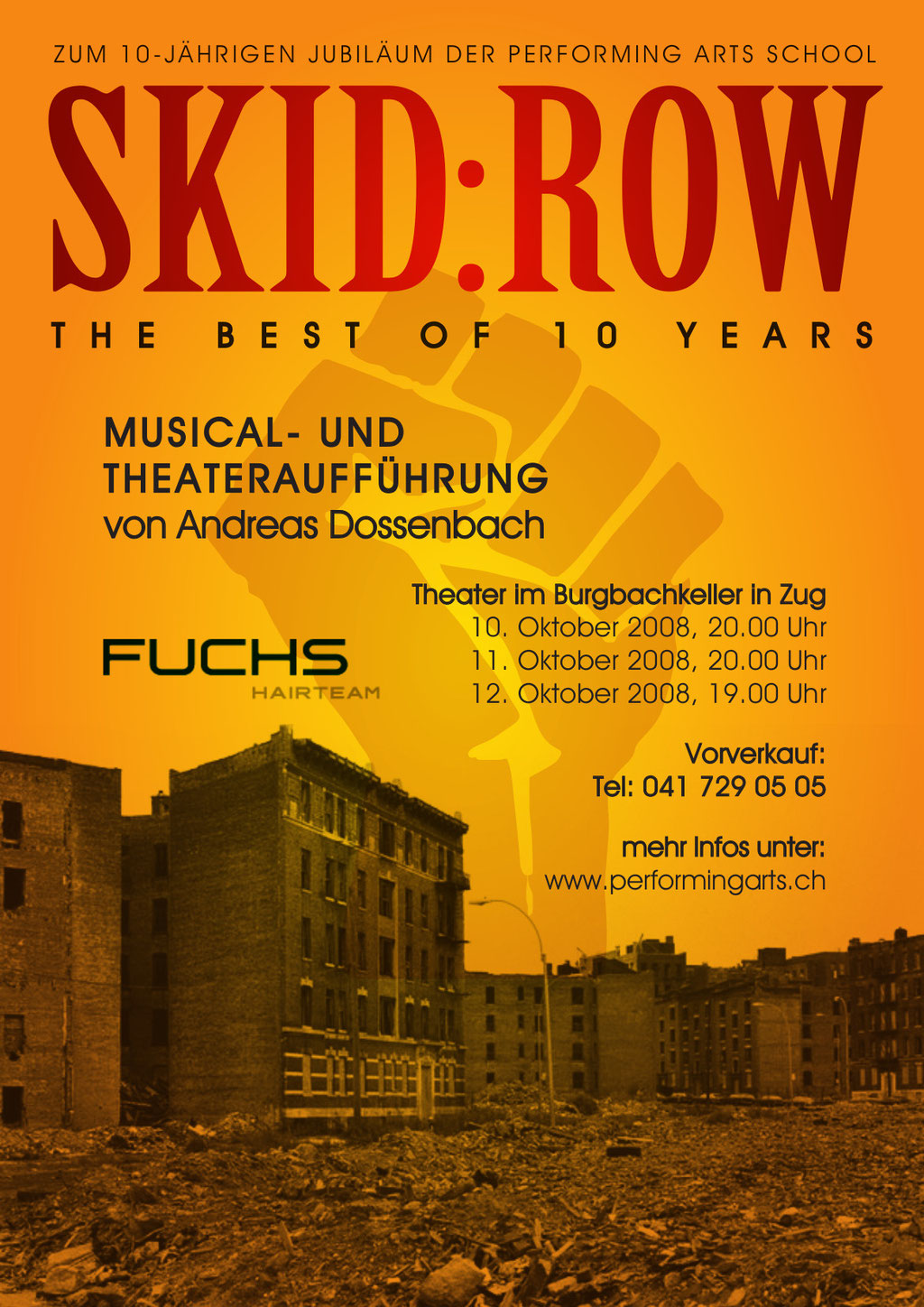 2008 MUSICAL - SKID ROW