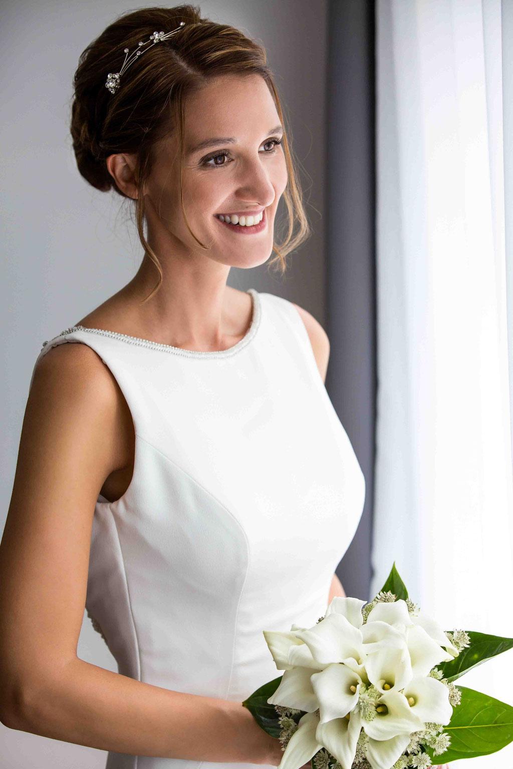 Brautportrait, Portrait der Braut, romantische Hochzeitsfotos, traumhaftes Hochzeitsbild, Premium Hochzeitsbilder