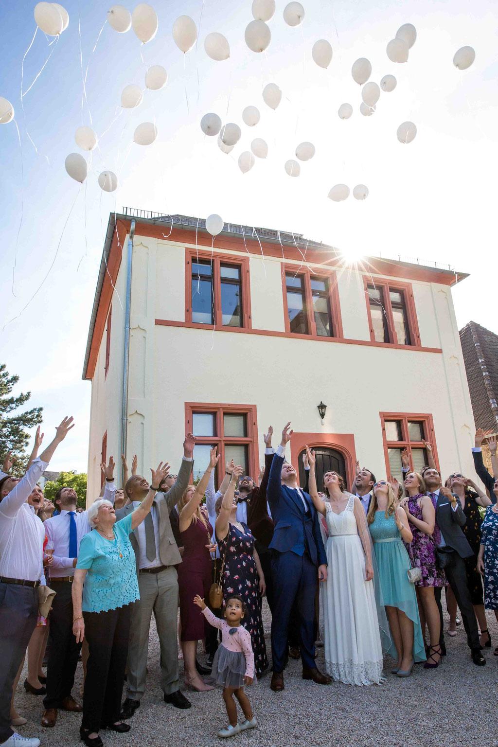 Gruppenbild Hochzeit Hochzeitsfotograf, Gruppenfoto an der Hochzeit