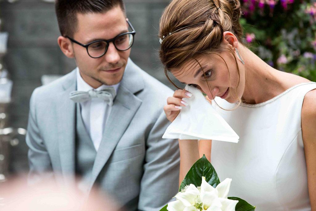 Emotionen an der Hochzeit, Bilder von Emotionen an der Hochzeit, emotionale Hochzeitsbilder