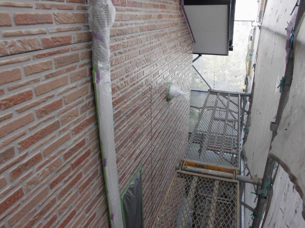 外壁(サイディング)/クリヤー主材下塗り