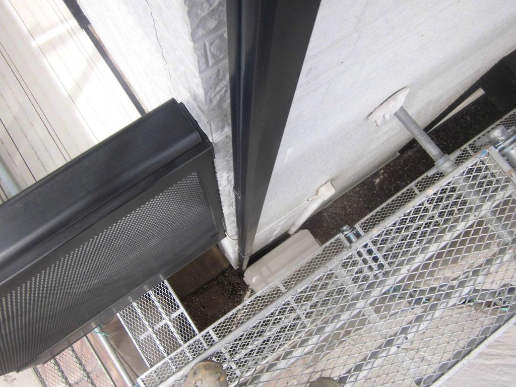 竪雨樋/施工前