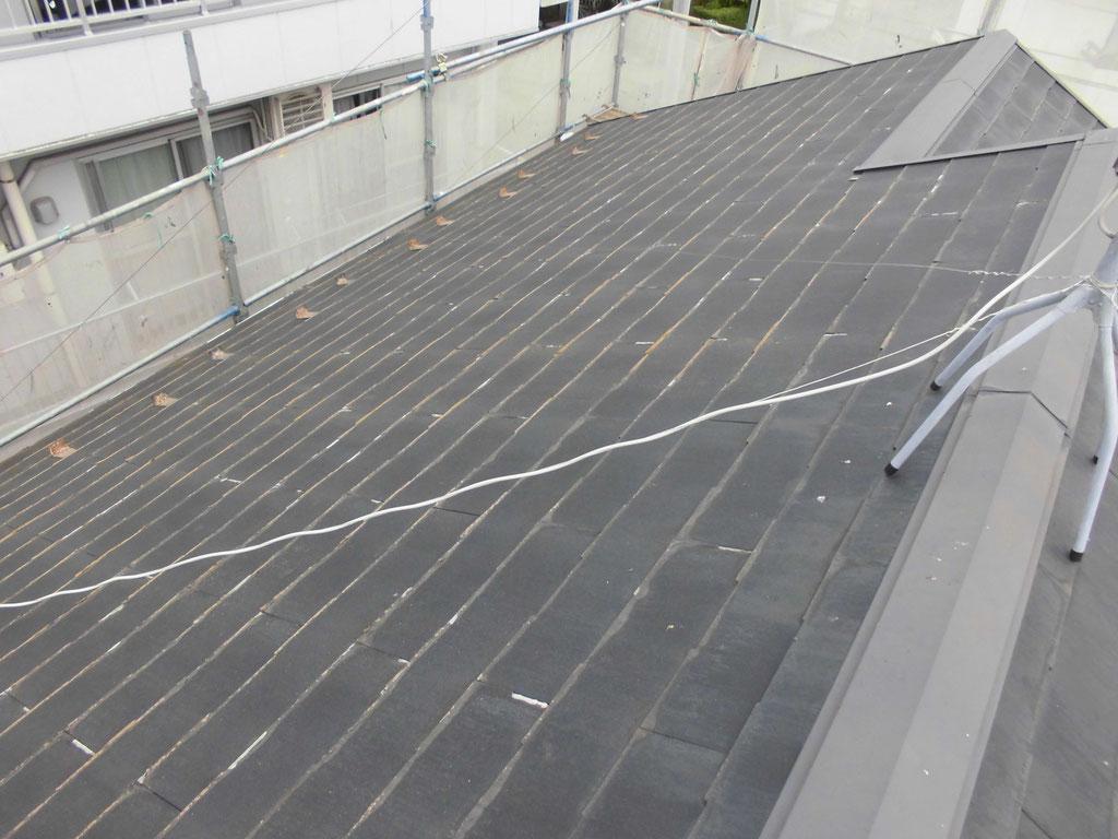 施工前の屋根の状況